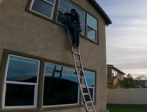 How to Clean High Windows